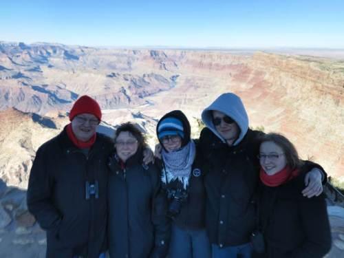 Famille VDB dans le froid