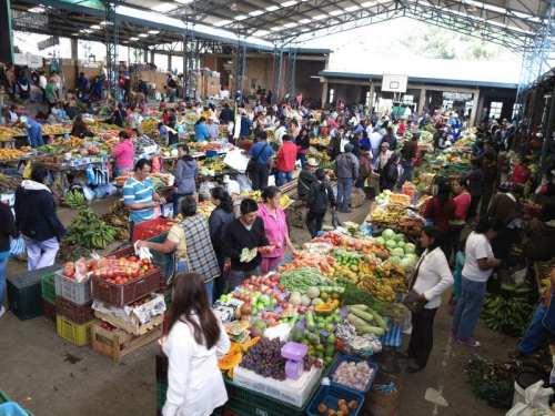 Popayan - Silvia hauteur sur le marché