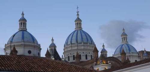 Cuenca - Toits arrière cathédrale
